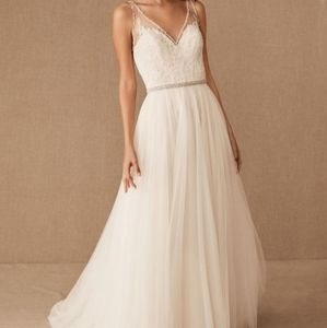 BHLDN Cassia gown